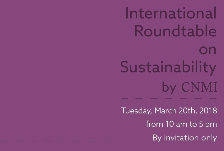 International Roundtable sulla Sostenibilità 2018