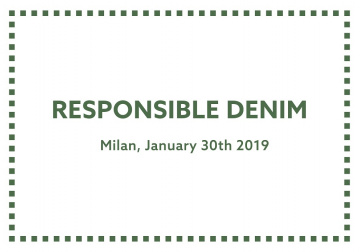 Workshop: responsible denim