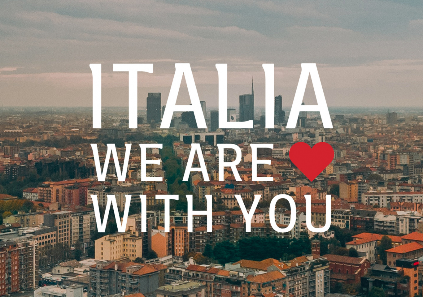 ITALIA WE ARE WITH YOU- THE PROJECT