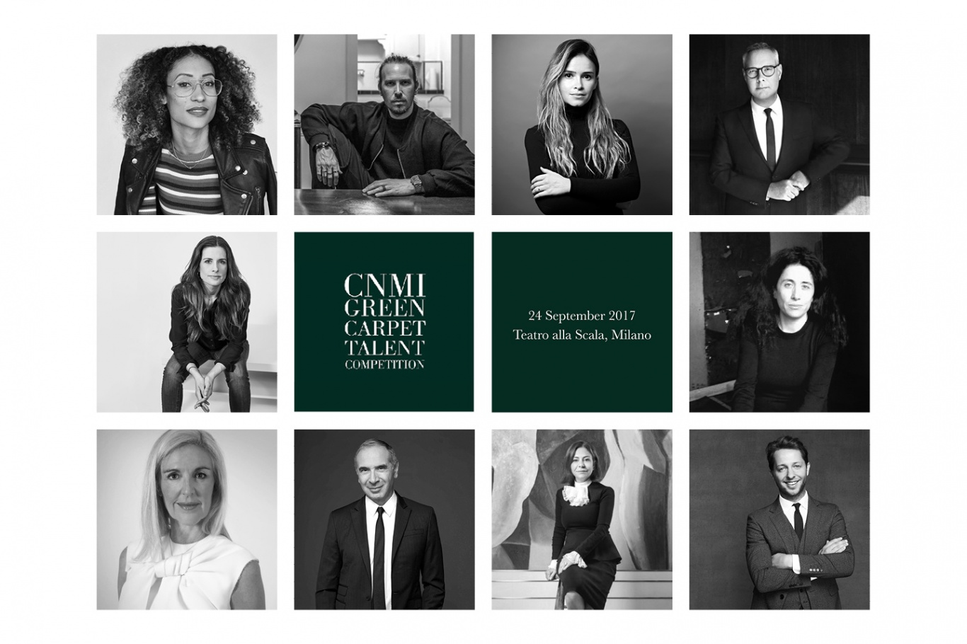 The GCC Fashion Awards, Italia announces international judging panel and 10 semi-finalists for the CNMI Green Carpet Talent Competition