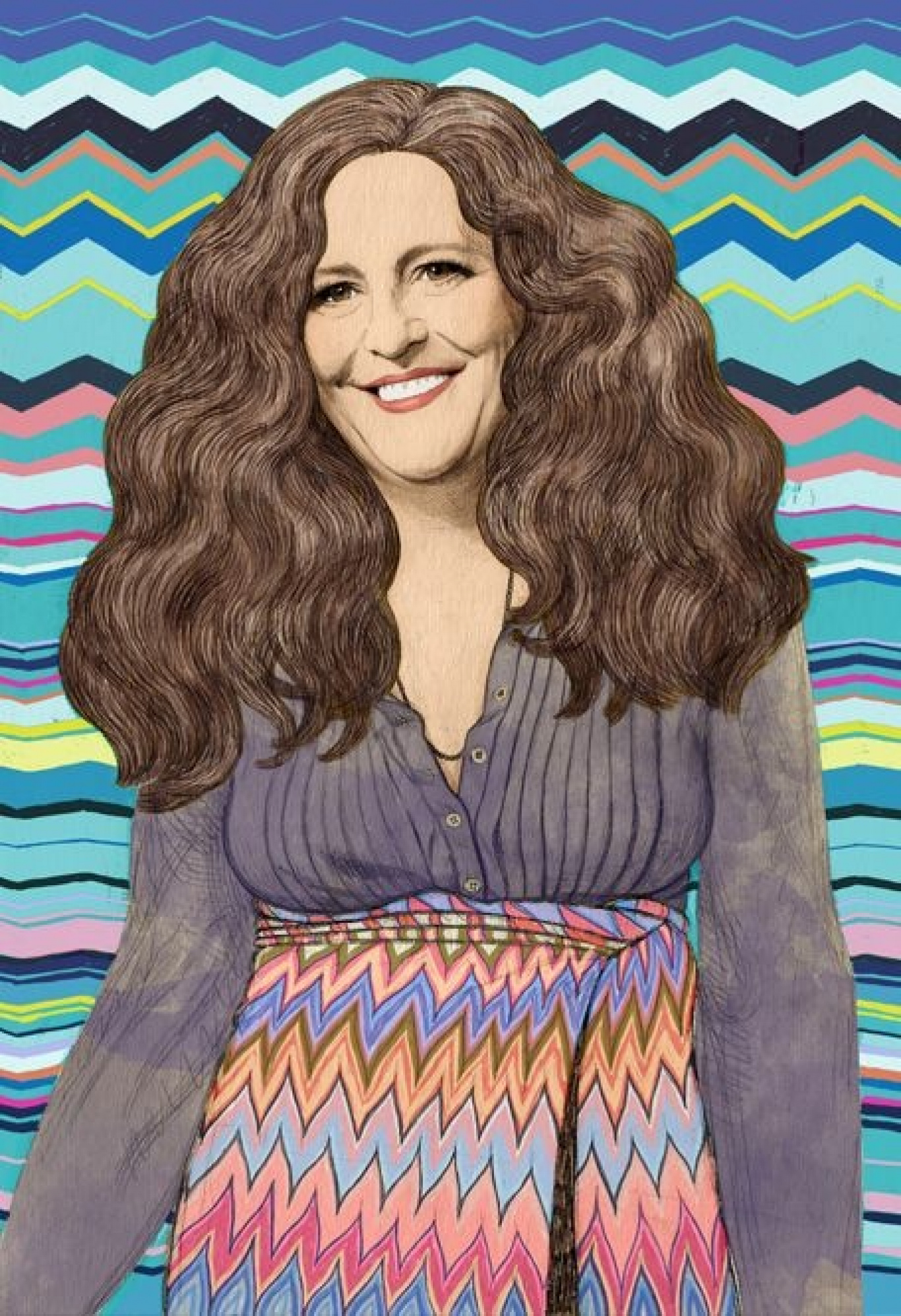 Interview with Angela Missoni - Illustration by Anna Higgie