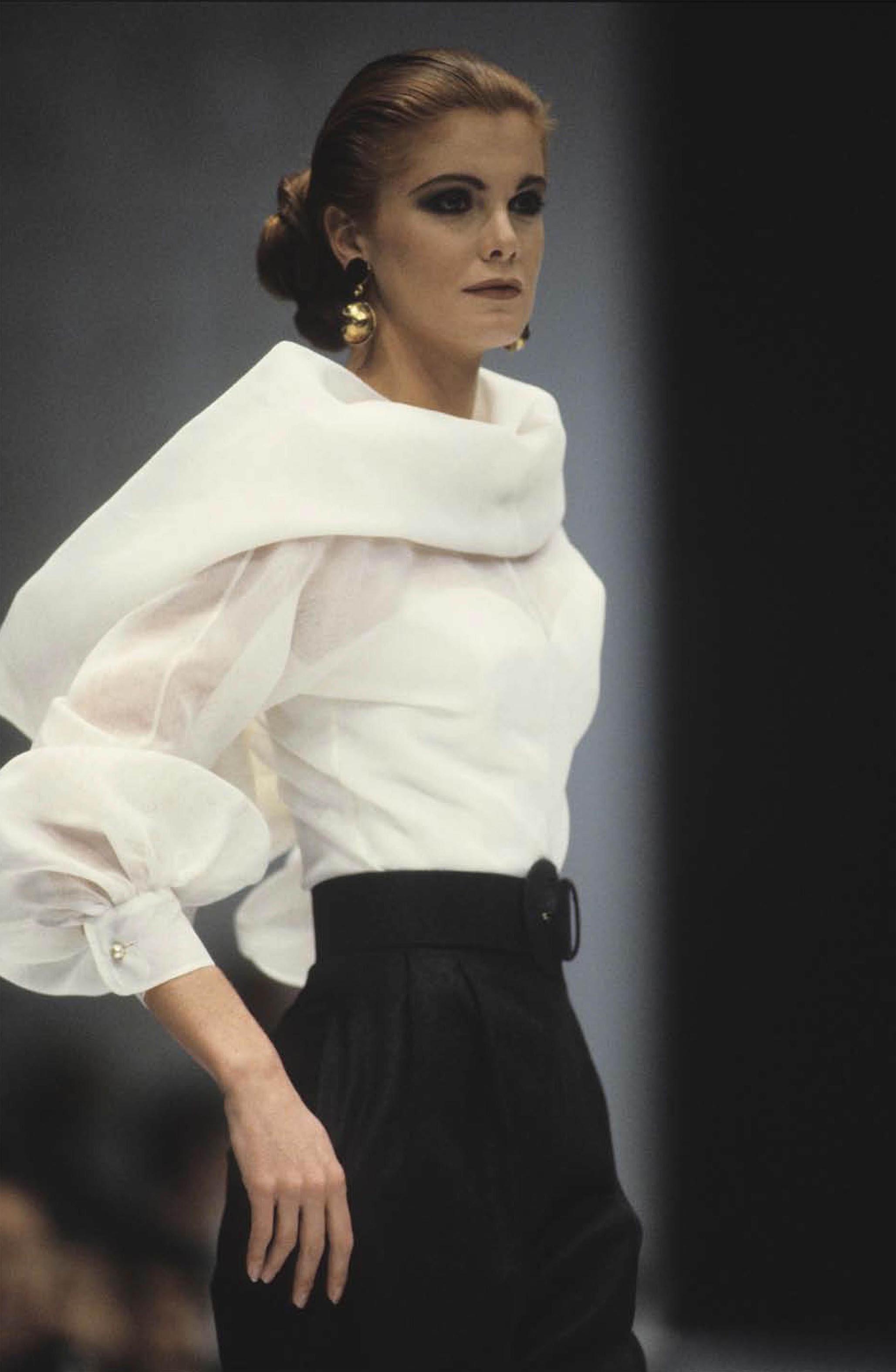"""The white shirt according to me. Gianfranco Ferré ..."
