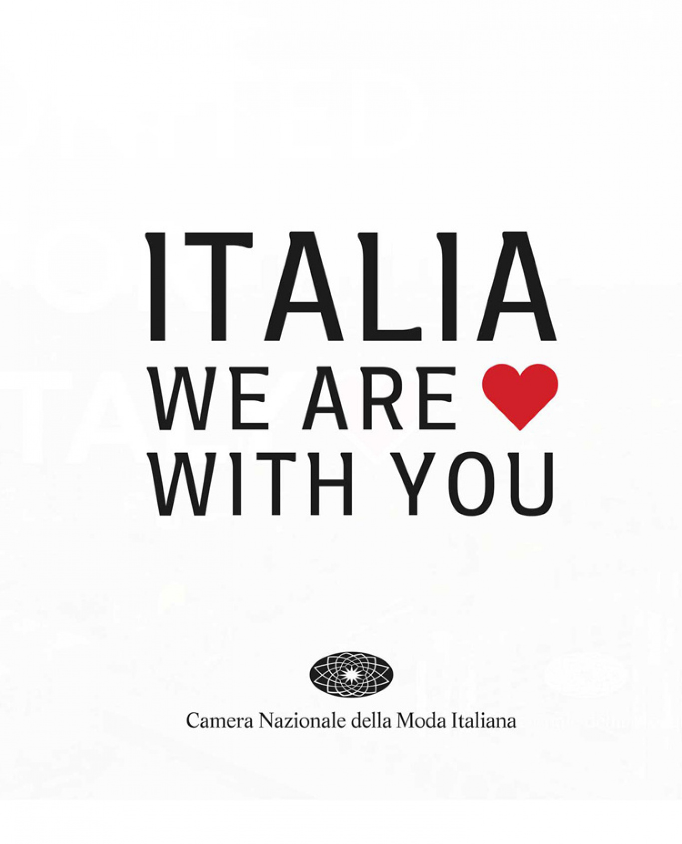 #ITALIAWEAREWITHYOU: BRANDS THAT PARTICIPATED