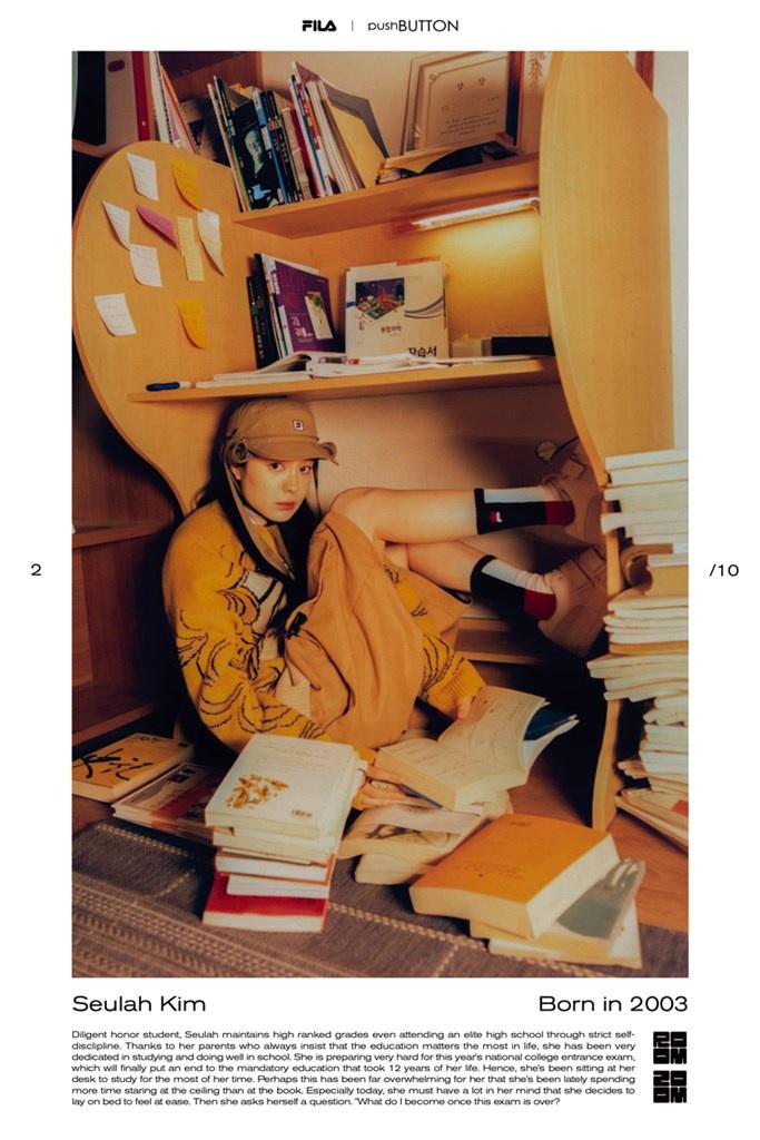 Fotoservizio/FW 21-22/WOMEN/PRESENTAZIONE/PUSH BUTTON FOR FILA KOREA/DP2/4