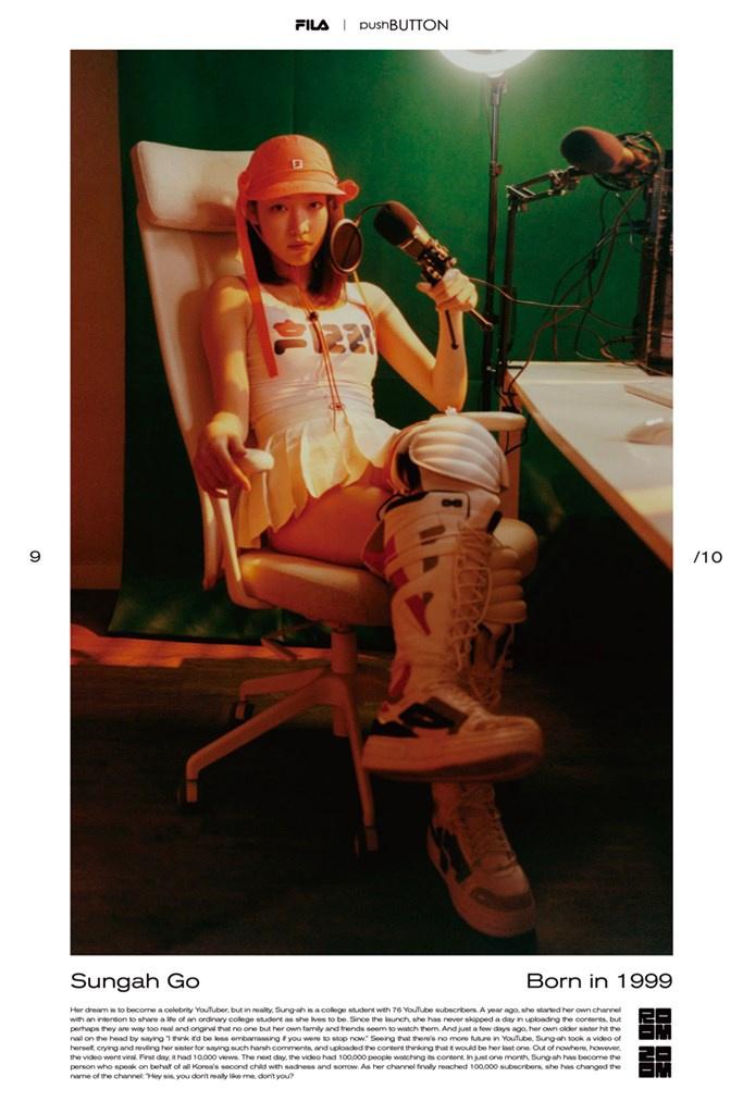 Fotoservizio/FW 21-22/WOMEN/PRESENTAZIONE/PUSH BUTTON FOR FILA KOREA/DP2/32