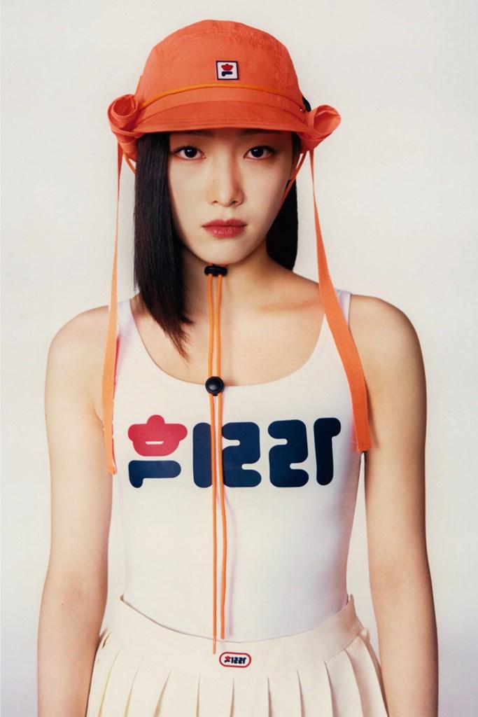 Fotoservizio/FW 21-22/WOMEN/PRESENTAZIONE/PUSH BUTTON FOR FILA KOREA/DP2/33