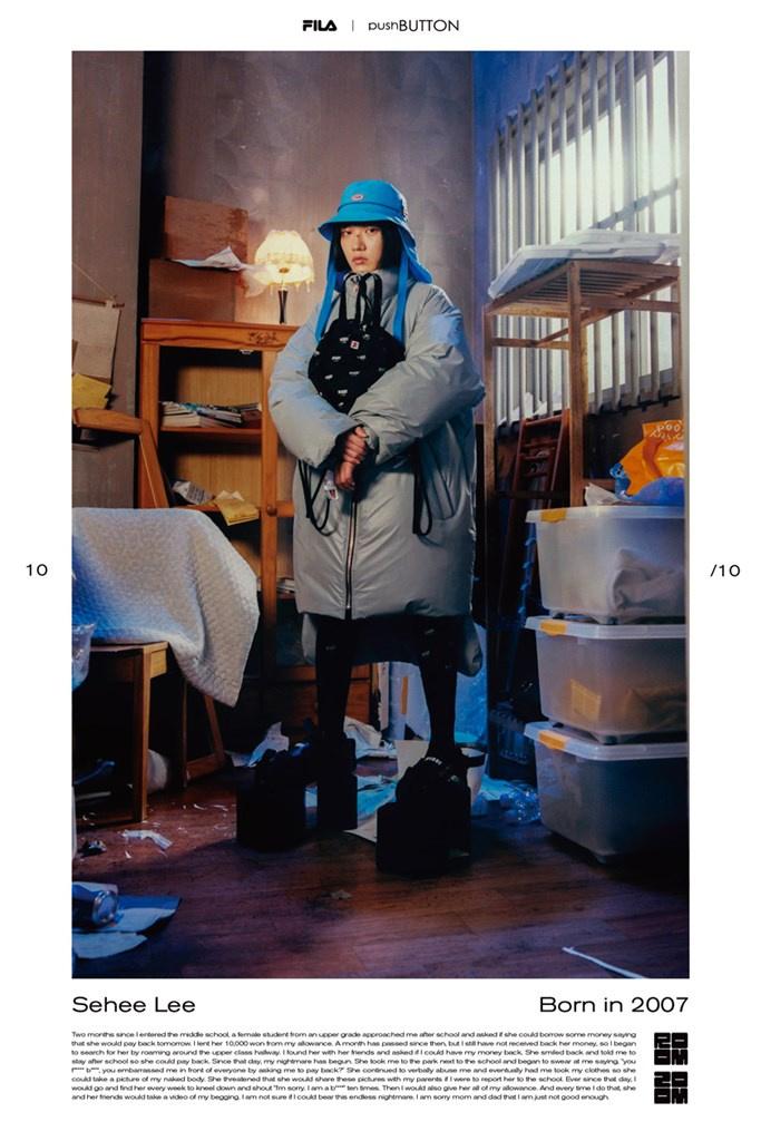 Fotoservizio/FW 21-22/WOMEN/PRESENTAZIONE/PUSH BUTTON FOR FILA KOREA/DP2/36